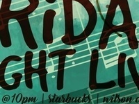 Friday Night Live Ft.  At The Latest // Vikram Gupta, Shawn Cummings, & Rob Dromski-Reed