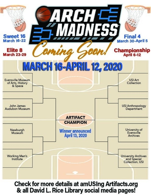 Arch Madness 2020 at David L. Rice Library