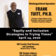 Equity and Inclusion Strategies in Trying Times : A Dynamic Plenary  For URI Faculty/Staff