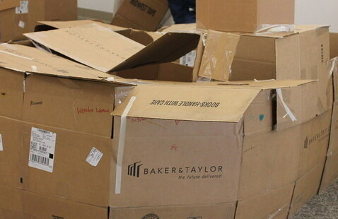 Cardboard Box Fort Building
