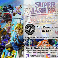 Pause for a Cause: Smash Bros Ultimate Tournament for Charity