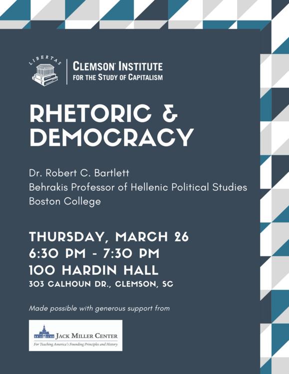Postponed: Rhetoric and Democracy