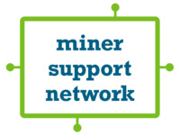 Miner Support Network Kickback Pizza Party at TJ