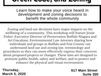 Land Use, Green Code, and Zoning