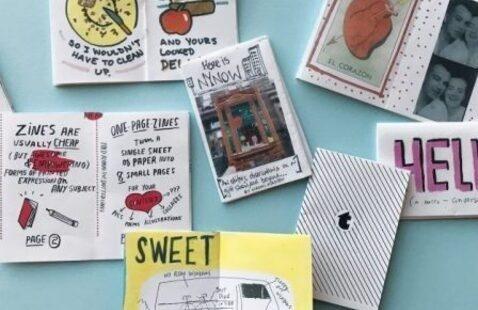 Teen Crafts: Making A Zine!