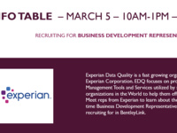 Experian Info table