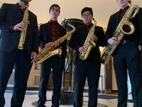 Live at the Cafe! with the Xeno Saxophone Quartet