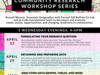 POSTPONED Data Driven Community Workshop Series Module 3: Analyzing Data with Graphs, Tables, and More
