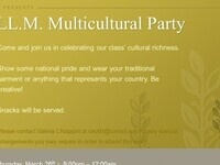 CANCELLED Multicultural Party