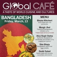 Canceled: Global Café: Bangladesh