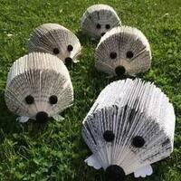 CANCELED - Upcycled Art: Book Hedgehog