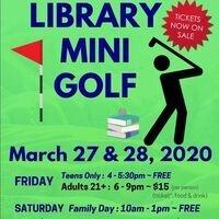 POSTPONED - Library Mini-Golf for Teens