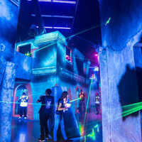 First Year students: Laser Tag