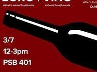 Euro | Vino event poster