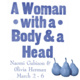 A Woman with a Body and a Head at Godine Gallery