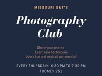 Photography Club General Meetings