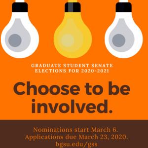 Graduate Student Senate Elections Information Session