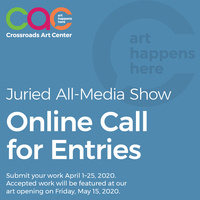 Call for Entries - May 2020 Juried All Media Show
