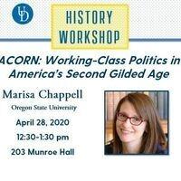 History Workshop - Marisa Chappell