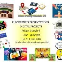 Physics & Astronomy Electronics Presentations: Digital Projects
