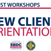 SBDC New Client Orientation