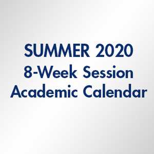 Summer 2020 Term 8-Week Session