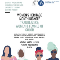 Women's Heritage Month Kick-Off