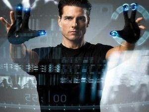 Tom Cruise as John Anderton in Minority Report