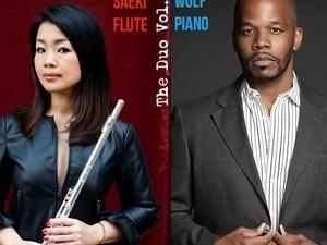 Mayu Saeki, flute & Warren Wolf, piano