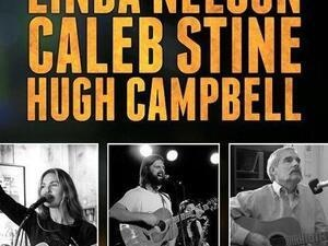 Folkal Point: Linda Nelson, Caleb Stine, and Hugh Campbell