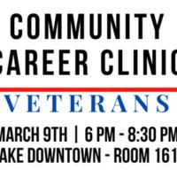 Community Career Clinic for Veterans