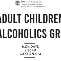 Adult Children of Alcoholics Group