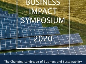 Cornell Business Impact Symposium poster