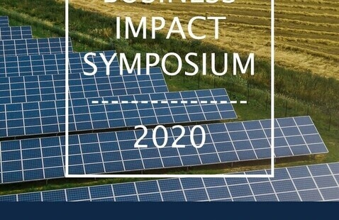 Cornell Business Impact Symposium poster