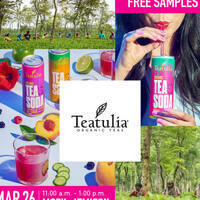 Teatulia Sampling-CANCELED