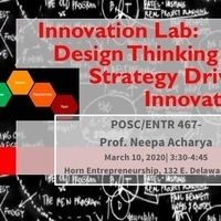 Innovation Lab: Design Thinking for Strategy Driven Innovation