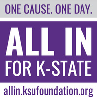 One cause. One day. All In for K-State, allin.ksufoundation.org