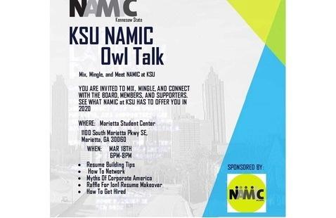 KSU NAMIC Owl Talk