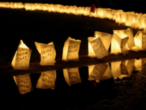 Luminarias lit at Pitt-Greensburg Relay for Life