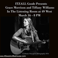 Grace Morrison and Tiffany Williams at 49 West!