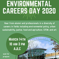 Third Annual Environmental Studies Careers Day