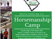 Horsemanship Camp Registration Open