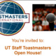 UT Staff Toastmasters - Open House Event