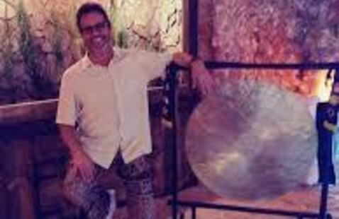 Micheal Burke in the Salt Cave