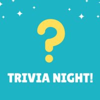 question mark with Trivia Night beneath