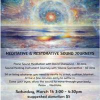 CANCELED - Meditative & Restorative Sound Journeys