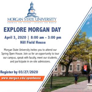 Explore Morgan Day - Spring Open House