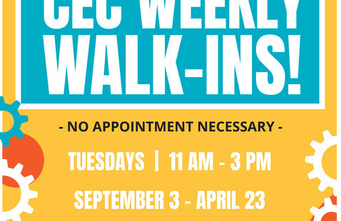 UND Career Services- CEM Walk-in day!