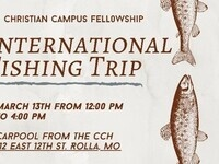 International Fishing Trip (Cancelled)