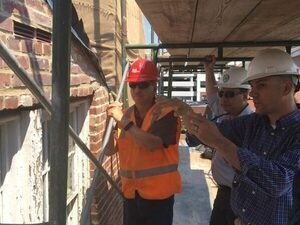 Reinventing the Peale: A Hard Hat Tour